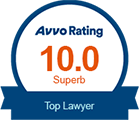 Superb 10.0 Avvo Rating